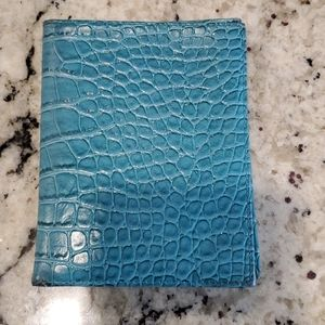 Alligator Leather wallet/passport holder